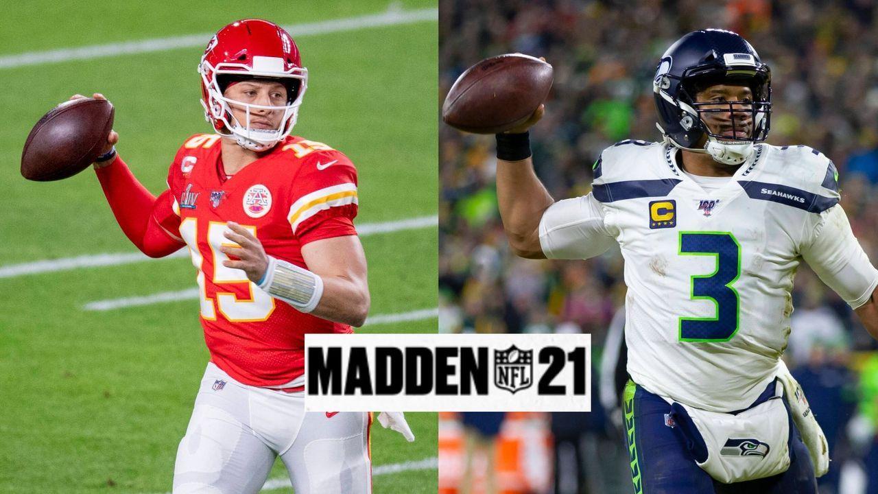 Mahomes, Wilson und Co.: Die stärksten Quarterbacks in Madden 21 - Bildquelle: imago