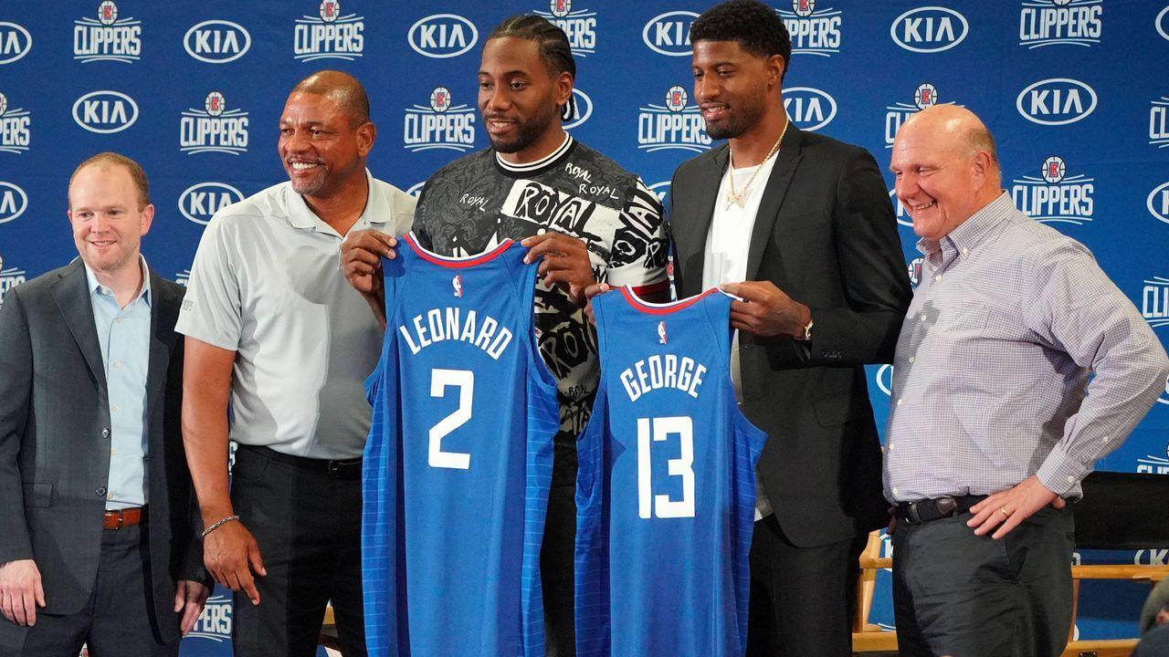 Platz 1: Los Angeles Clippers - Bildquelle: imago
