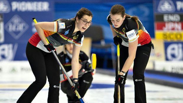 Curling - Curling-WM: Vierte Niederlage für deutsche