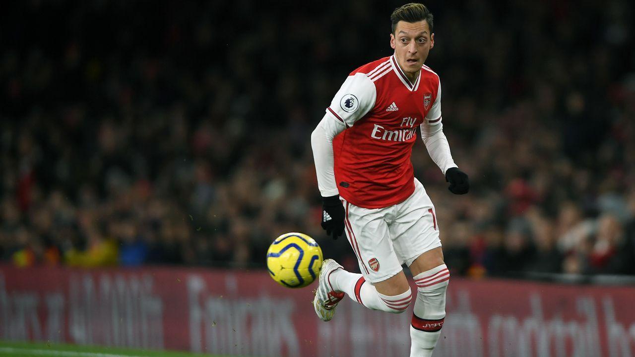 Verlierer: Mesut Özil - Bildquelle: 2019 Getty Images
