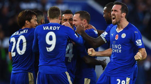 Leicester City - Bildquelle: 2015 Getty Images