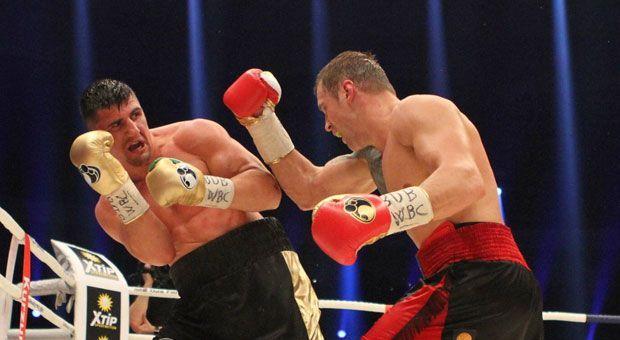 1. Halbfinale (Cruisergewicht): Oleksandr Usyk (UKR) vs. Mairis Briedis (LET) - Bildquelle: imago