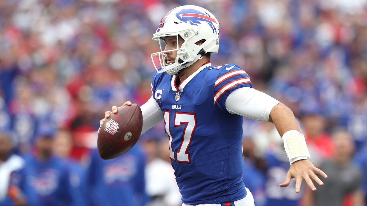 Quarterback: Josh Allen - Bildquelle: 2021 Getty Images