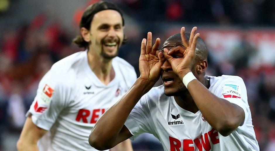2015 - Anthony Modeste zum 1. FC Köln (4,5 Mio.) - Bildquelle: 2017 Getty Images