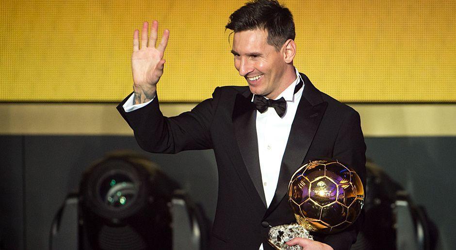 Lionel Messi Ballon d'Or - Bildquelle: 2016 Getty Images