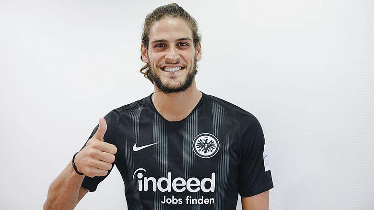 Goncalo Paciencia (Zugang Eintracht Frankfurt) - Bildquelle: Twitter @ Eintracht Frankfurt