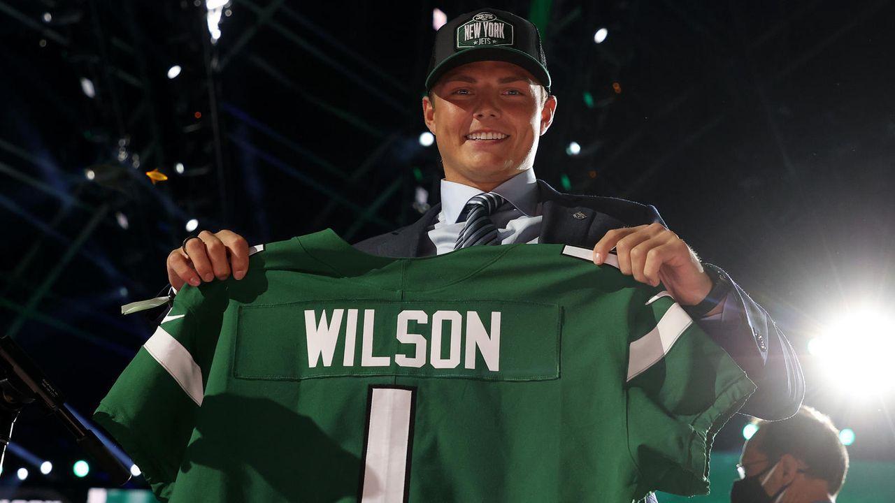 Zach Wilson (Quarterback/New York Jets) - Bildquelle: getty