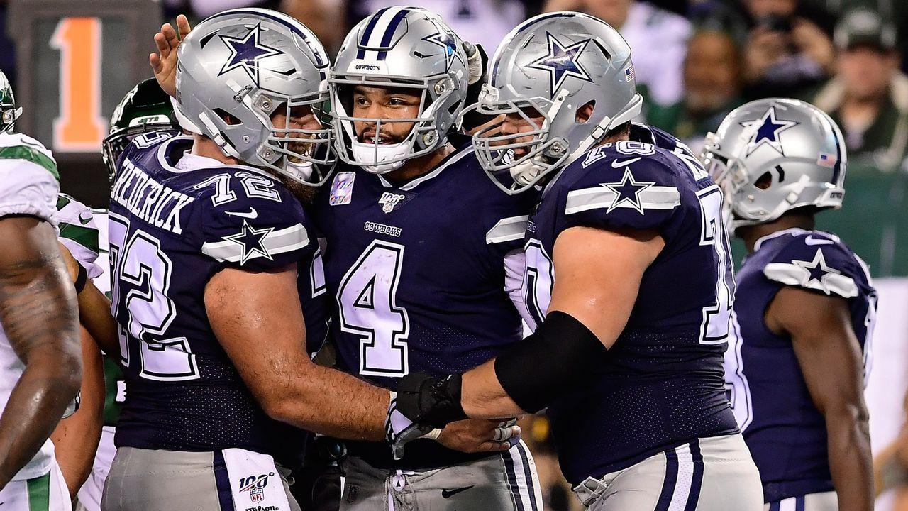 Platz 4: Dallas Cowboys - Bildquelle: 2019 Getty Images
