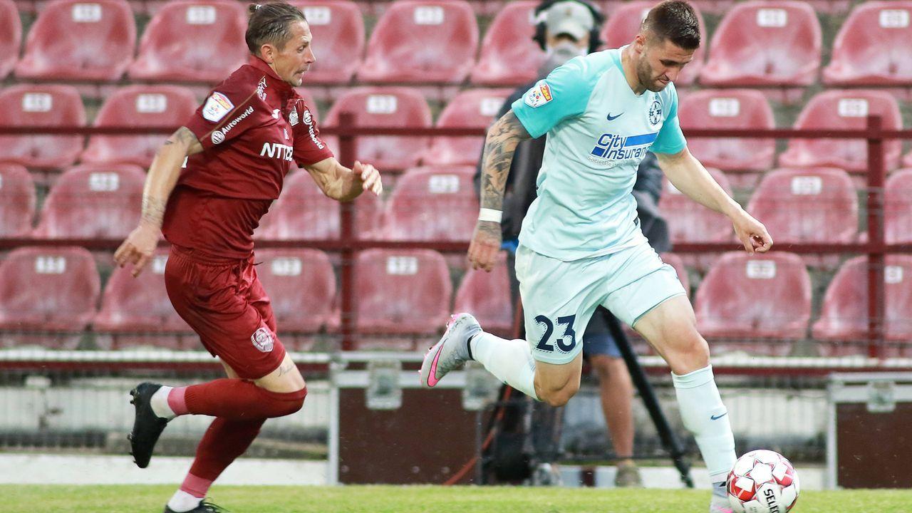 Platz 18: Liga 1 (Rumänien) - Bildquelle: imago images/MB Media Solutions