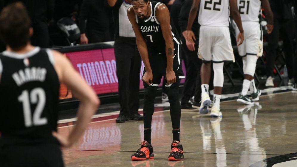 Aus für Kevin Durant und die Brooklyn Nets - Bildquelle: Getty ImagesAFPSIDDAVID DOW