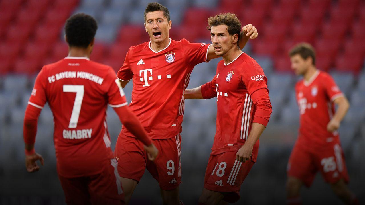 Der FC Bayern gegen die Hertha in der Einzelkritik - Bildquelle: Getty
