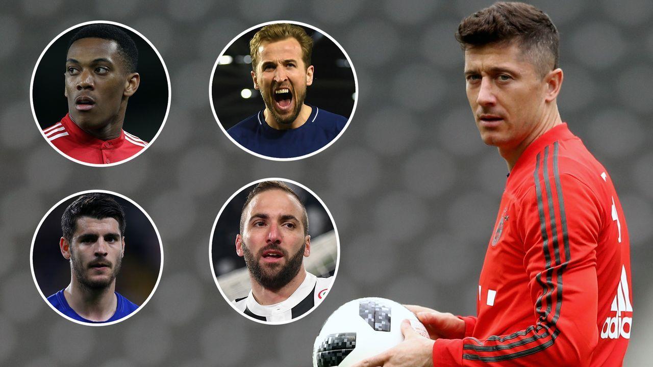 Die möglichen Lewandowski-Nachfolger beim FC Bayern - Bildquelle: 2018 Getty Images