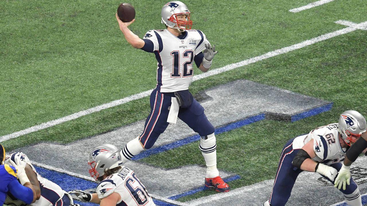 Platz 1: Tom Brady - Bildquelle: imago