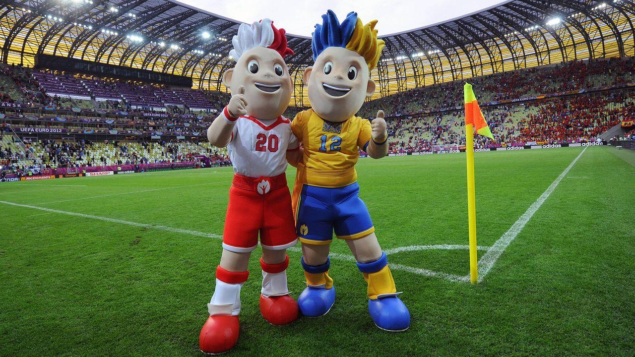 Polen und Ukraine 2012: Slavek und Slavko - Bildquelle: imago sportfotodienst