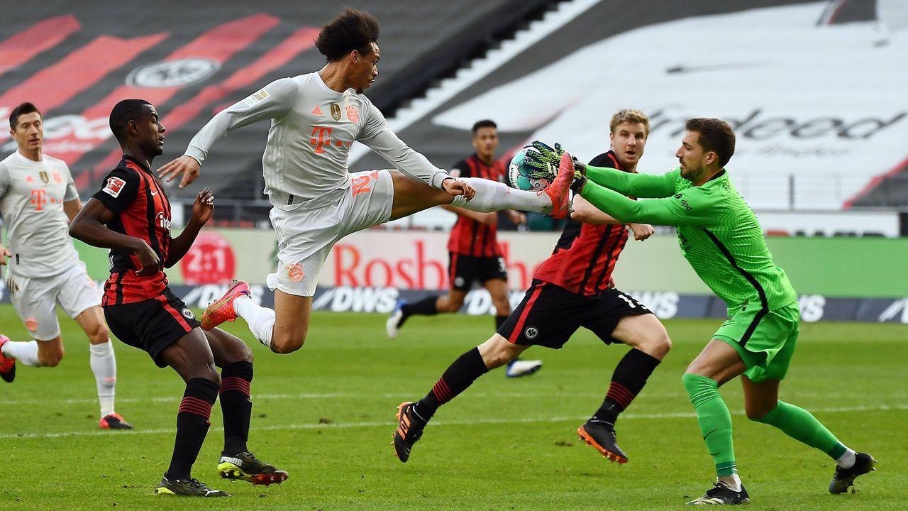 3. Saisonniederlage: Frankfurter Eintracht ringt den FC Bayern nieder - Bildquelle: Imago