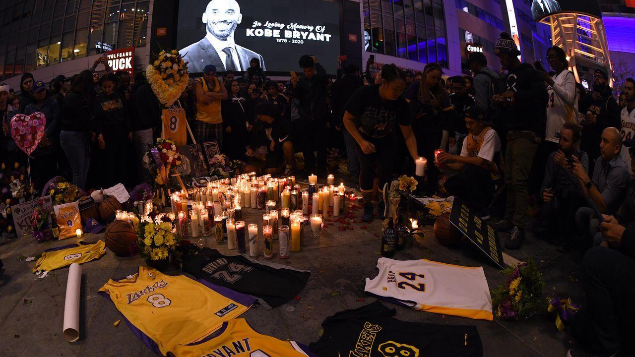 Kobe-Fans am Staples Center  - Bildquelle: 2020 Getty Images