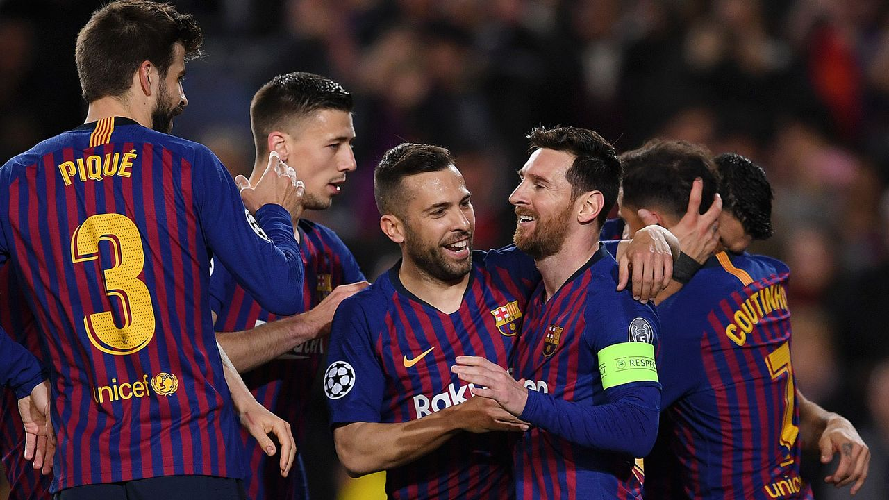 Platz 1: FC Barcelona - Bildquelle: 2019 Getty Images