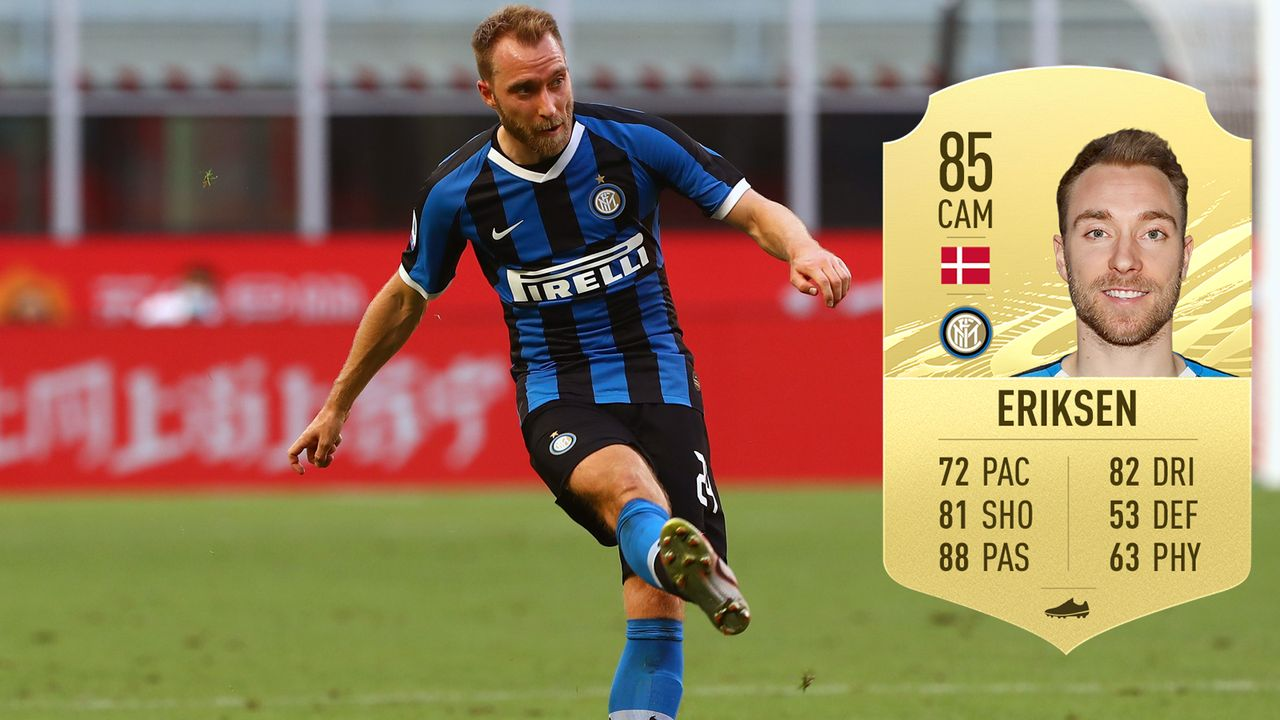 Christian Eriksen (Inter Mailand/Dänemark) - Bildquelle: 2020 Getty Images/EA Sports