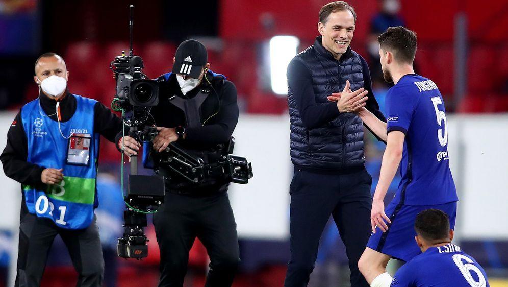 Thomas Tuchel zieht mir Chelsea ins Halbfinale der Champions League ein. - Bildquelle: 2021 Getty Images