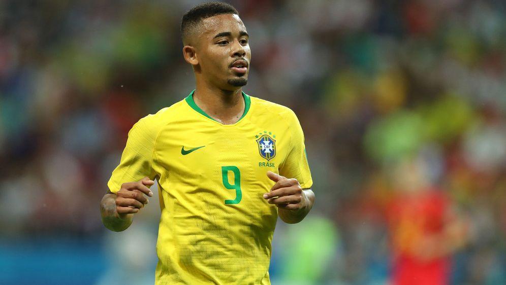 Gabriel Jesus erzielte das 1:0 gegen Saudi Arabien - Bildquelle: Getty Images