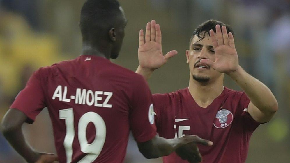 Nach Aufholjagd: Katar mit Achtungserfolg gegen Paraguay - Bildquelle: AFPSID-CARL DE SOUZA