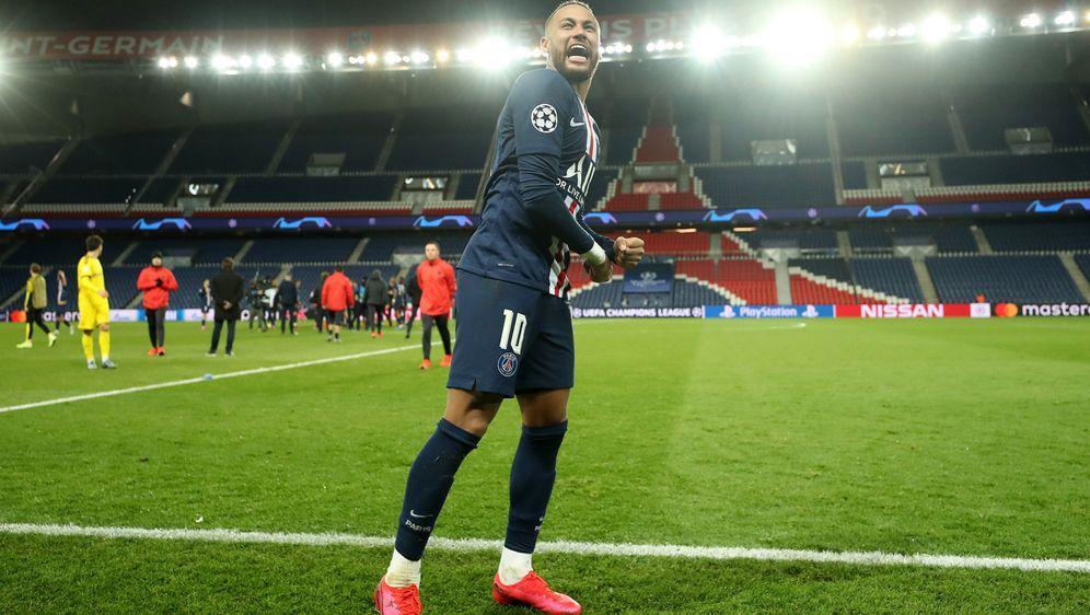 Neymar steht mit PSG im Viertelfinale der Champions League. Aber kommt es no... - Bildquelle: 2020 UEFA