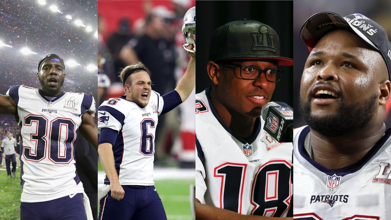 Drei Titel: Harmon, Allen, Slater, Cannon - Bildquelle: Getty Images