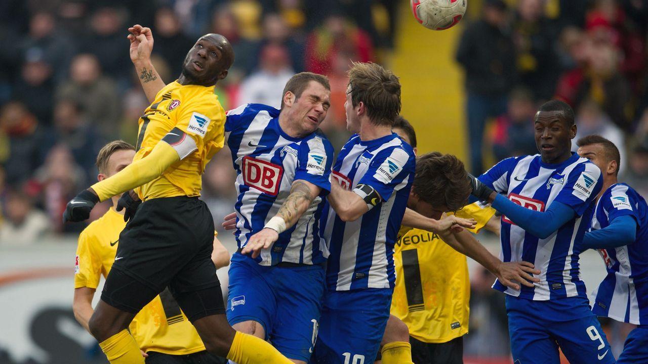 Lasogga entschied das bislang letzte Duell - für Dresden - Bildquelle: imago sportfotodienst