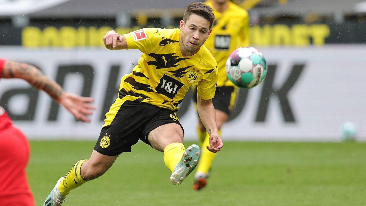 Platz 8 (geteilt): Raphael Guerreiro (Borussia Dortmund) - Bildquelle: Imago