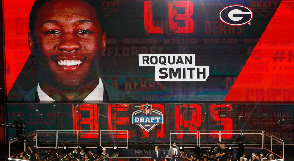 8. Pick - Chicago Bears: LB Roquan Smith - Bildquelle: getty