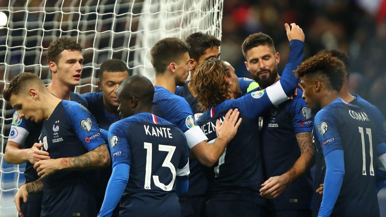 Frankreich - Bildquelle: 2019 Getty Images