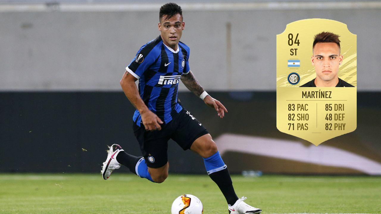 Lautaro Martinez (Inter Mailand) - Bildquelle: Imago / Futhead