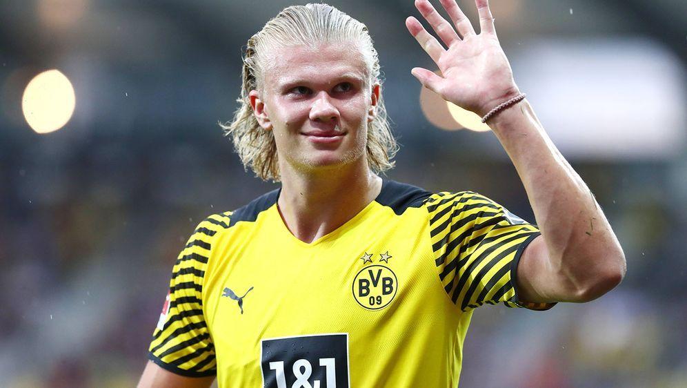 Erling Haaland steht wohl wieder im Fokus von Real Madrid. - Bildquelle: imago images/Thomas Bielefeld