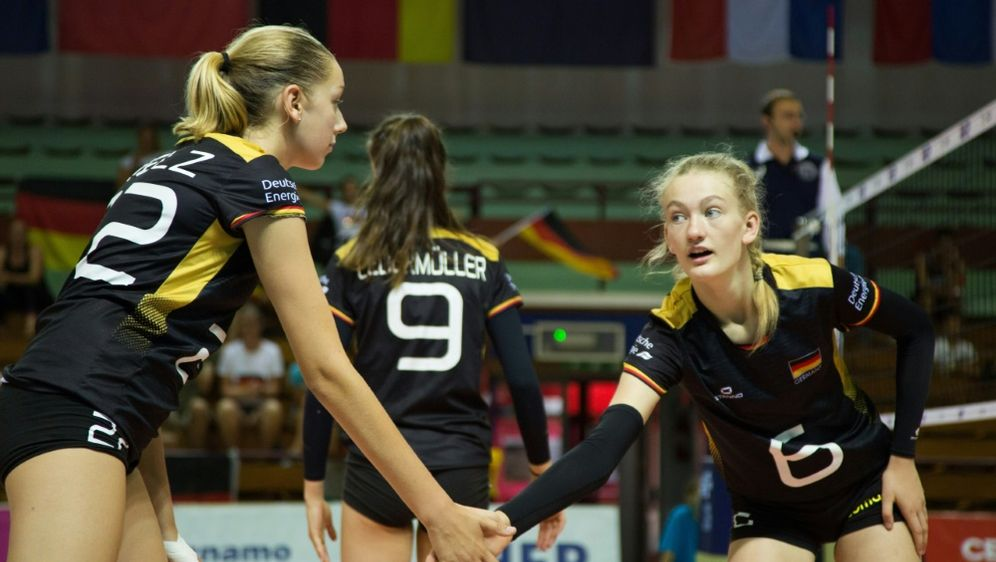Alle deutschen EM-Spiele live im TV auf Sport1 - Bildquelle: CEVCEVSID