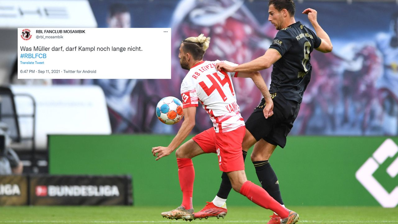 Handspiel-Diskussion um Kevin Kampl und Thomas Müller - Bildquelle: imago/twitter@rbl_mosambik