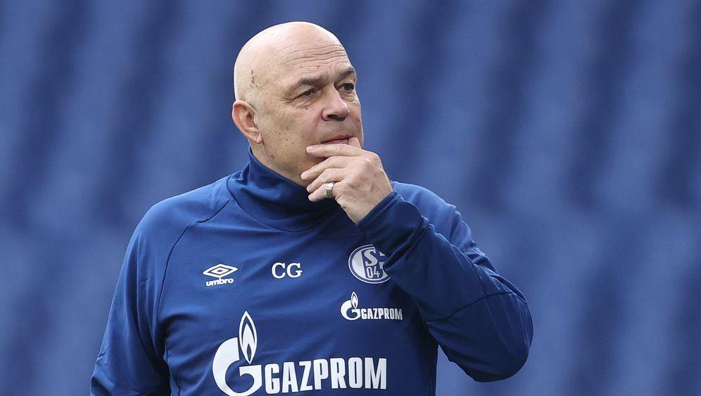 Schalke-Trainer Christian Groß. - Bildquelle: getty
