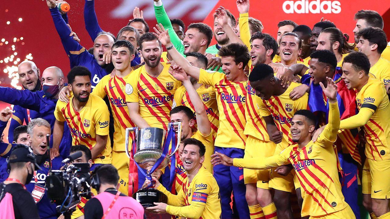 FC Barcelona - Bildquelle: 2021 Getty Images