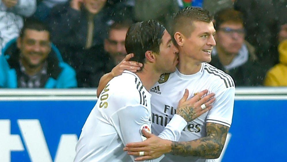 Toni Kroos legte Reals Führungstreffer durch Ramos auf - Bildquelle: AFPSIDANDER GILLENEA