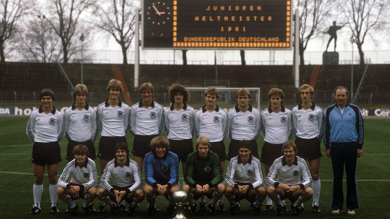 U20-Weltmeister 1981 - Bildquelle: imago sportfotodienst