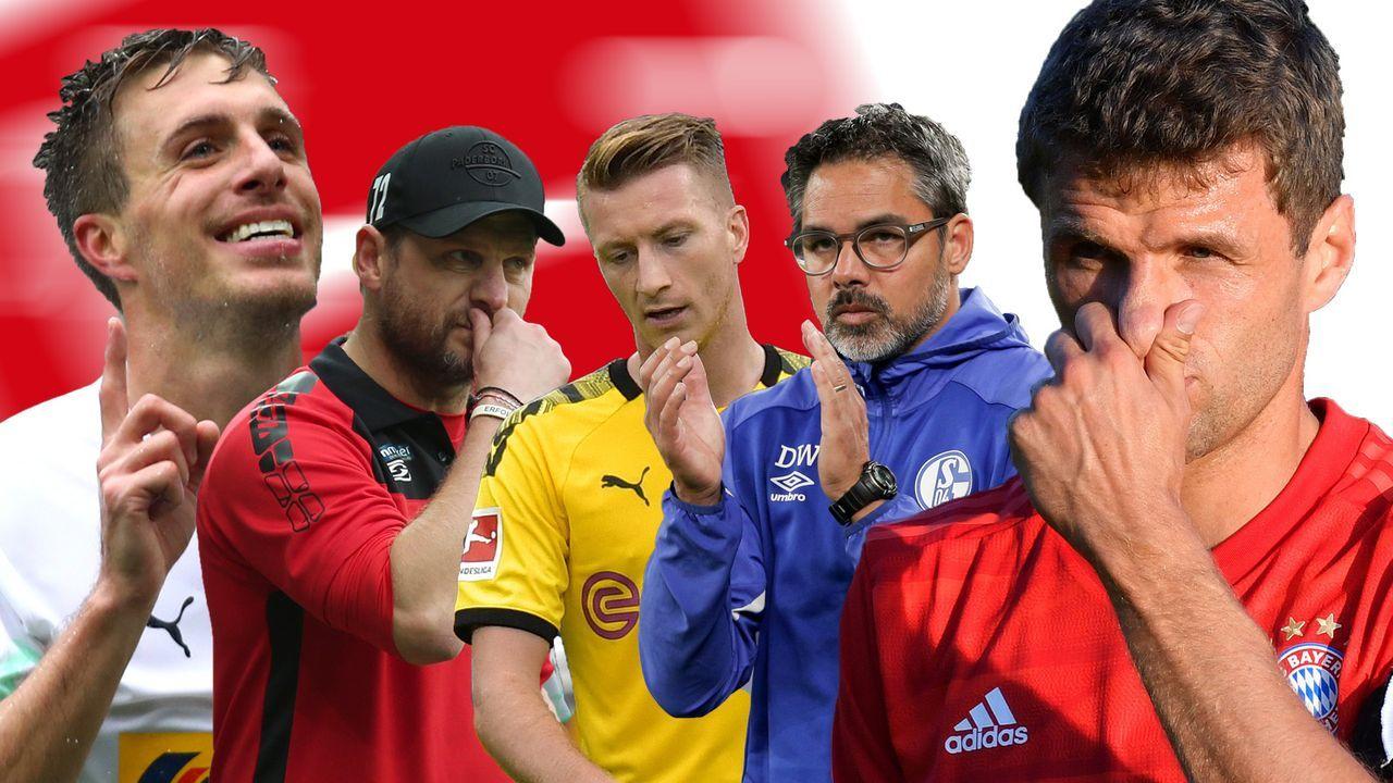 Die Brennpunkte der Bundesliga  - Bildquelle: Getty/Imago