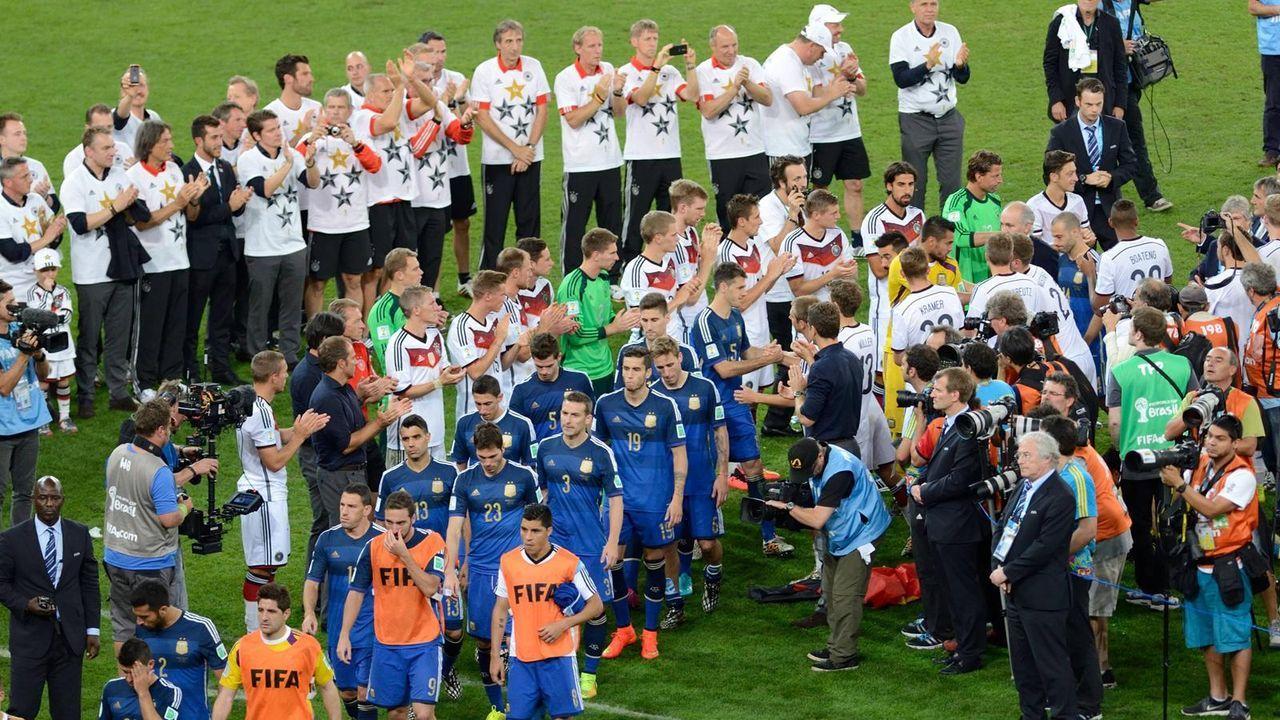 Platz 3: Argentinien (fünf Final-Teilnahmen) - Bildquelle: imago