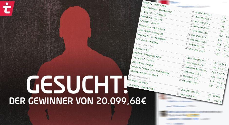 Wettanbieter sucht Abräumer - Bildquelle: Facebook/tipico