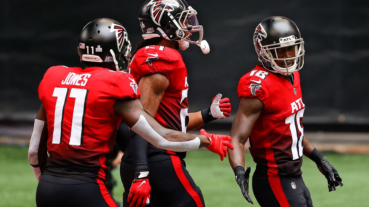 Todd Gurley und Julio Jones (Atlanta Falcons) - Bildquelle: Getty Images