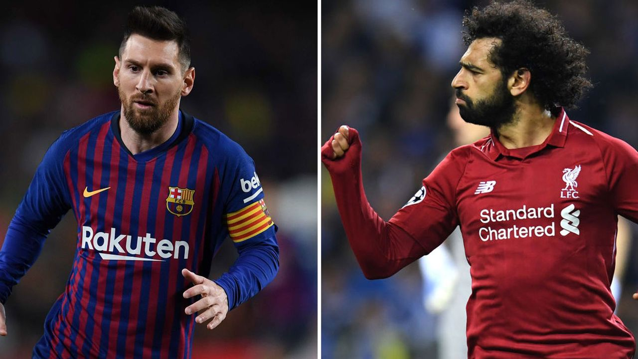 Rechter Flügelspieler: Lionel Messi vs. Mohamed Salah - Bildquelle: Getty Images