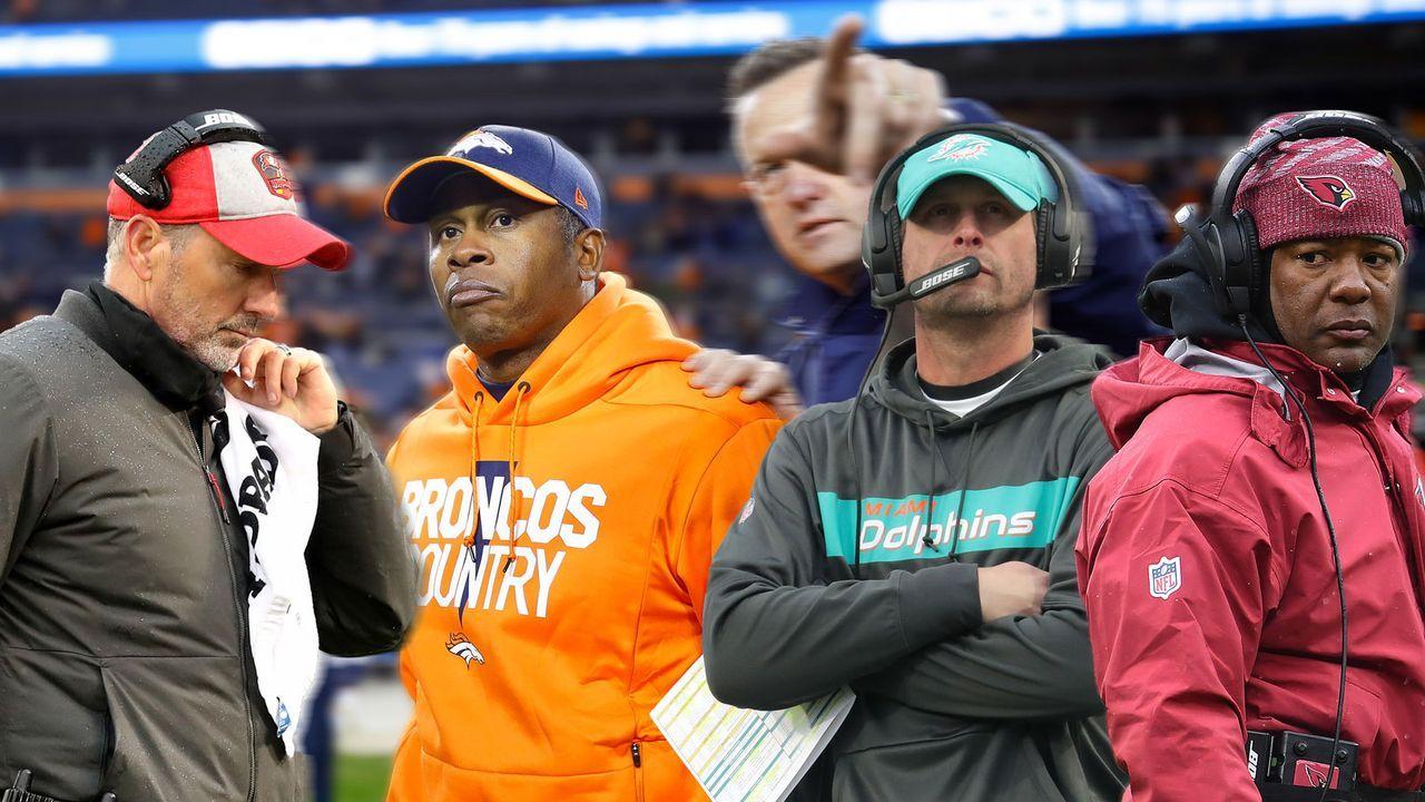 NFL Saison 2018: Schon acht Head Coaches gefeuert - Bildquelle: Getty Images