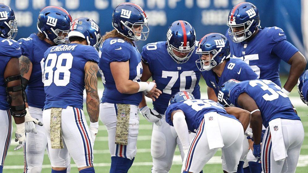 Bei den New York Giants kam es im Training zu einer großen Schlägerei. - Bildquelle: Getty