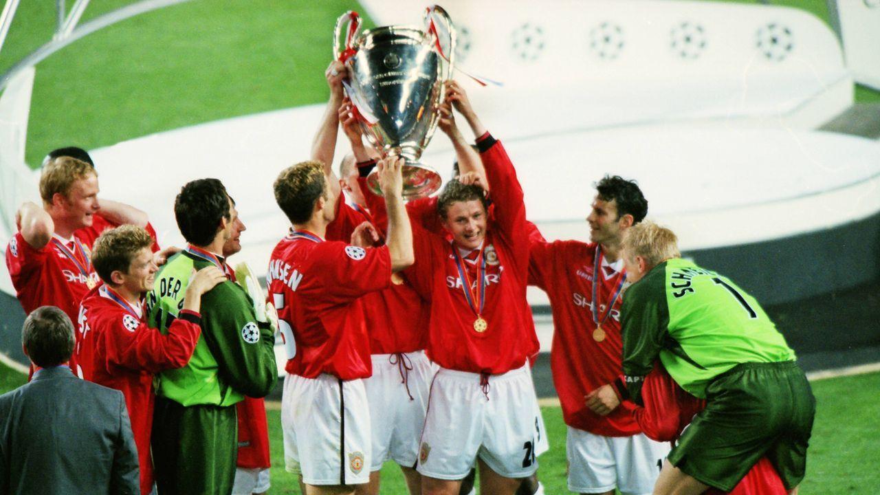 Manchester United (1999) - Bildquelle: imago images / Colorsport
