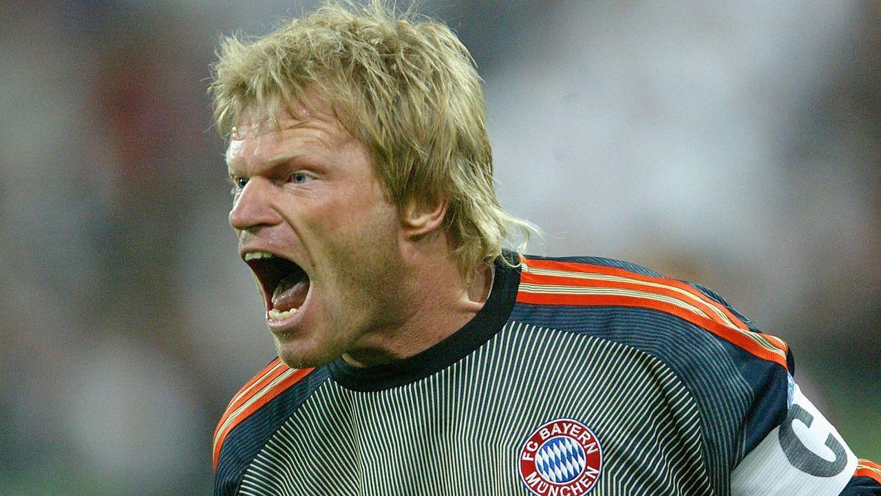 Platz 2: Oliver Kahn (FC Bayern München) - Bildquelle: Getty Images