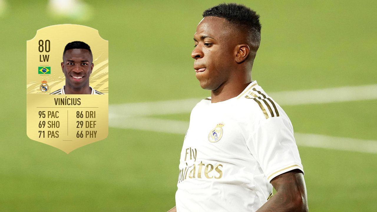 Vinicius Jr. (Real Madrid) - Bildquelle: Imago / Futhead