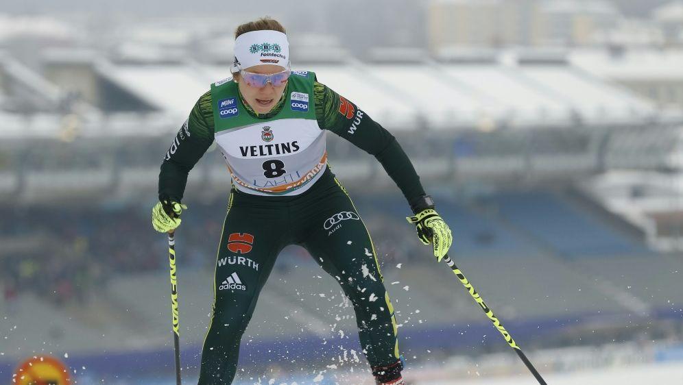 Sandra Ringwald überzeugte beim Weltcup im Teamsprint - Bildquelle: PIXATHLONPIXATHLONSID